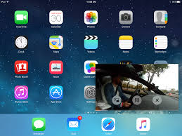 How to control the Picture-in-Picture video in iOS 9 on iPad