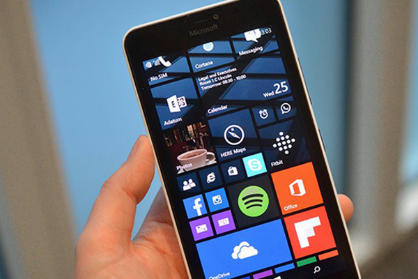 Microsoft Lumia 640 XL LTE software
