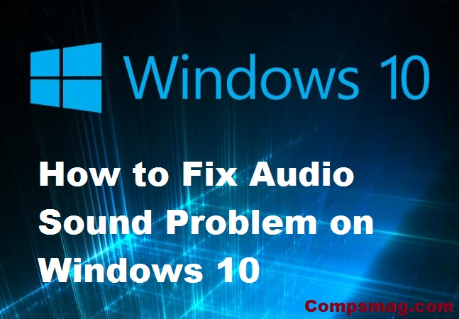 windows 10 sound issues fix