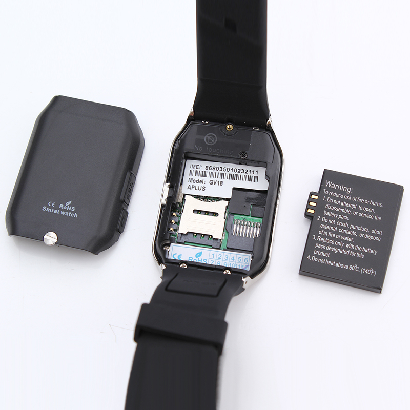 GV18 Aplus smartwatch phone- batttery
