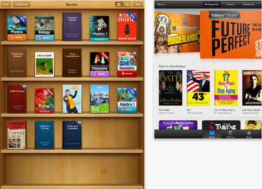 How to hide iCloud books in iBooks