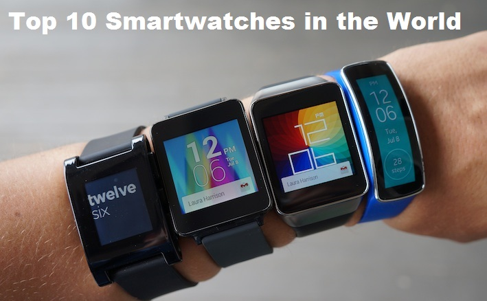 Top 10 Smartwatches in the World