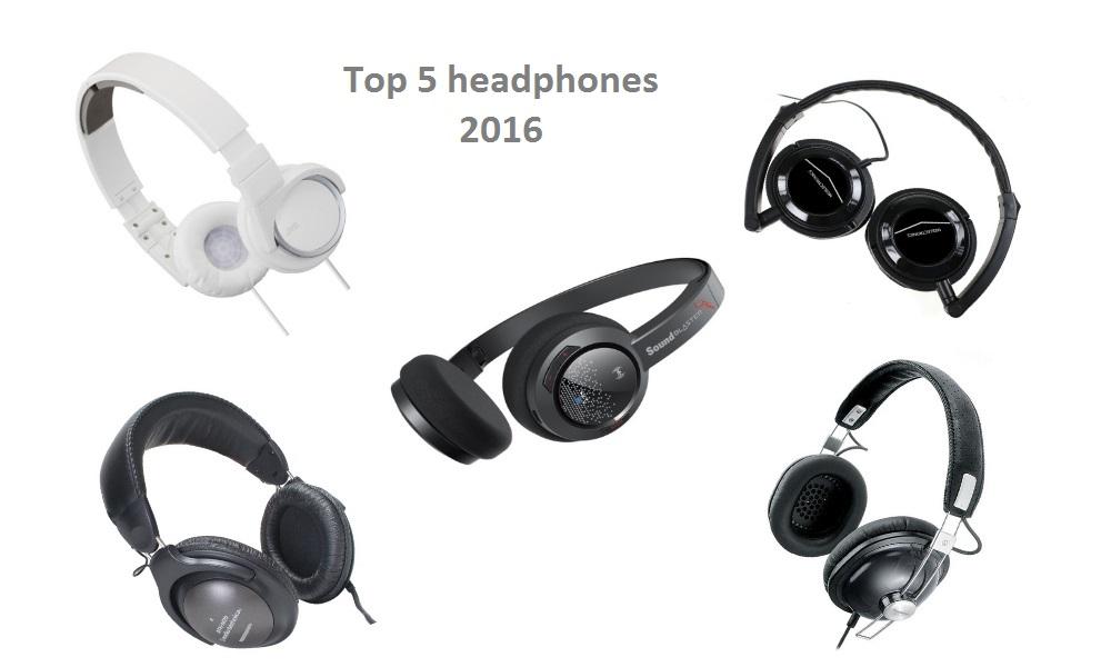 Top 5 Headphones 2016