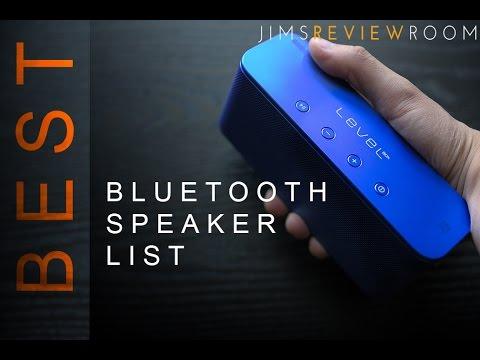 Best Bluetooth Speaker 2016