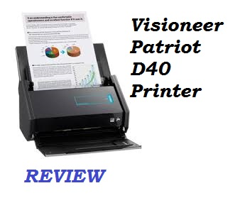visioneer patriot d40 review