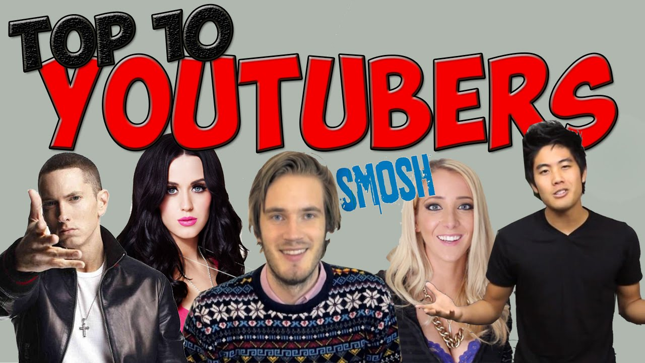 Top Ten Best Youtubers Of All Time Compsmag