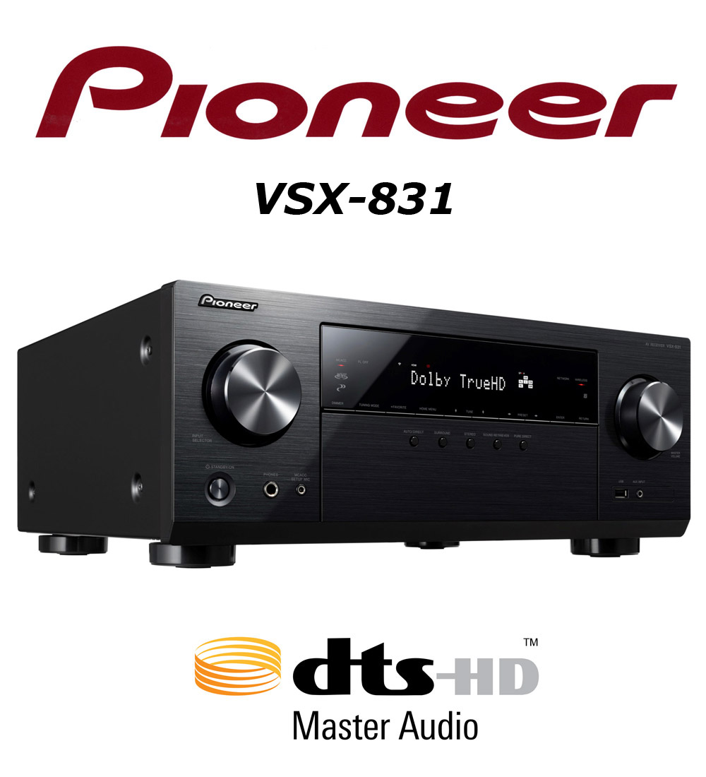Pioneer VSX-831Receiver Review