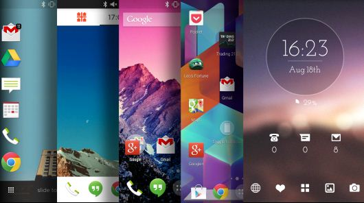 Top five Android Launchers of 2016