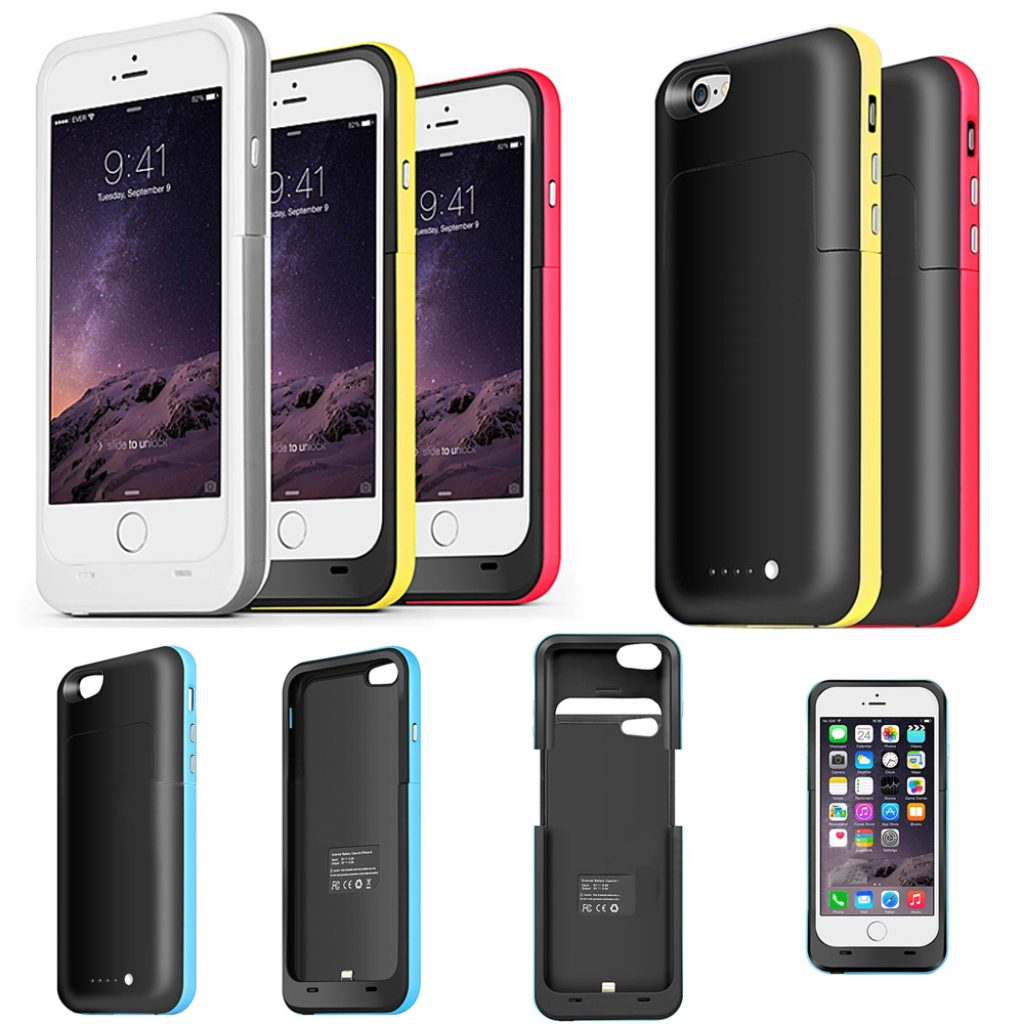 the latest 75cb0 a7907 Top 10 Battery cases and power packs for your iPhone 6 or 6s