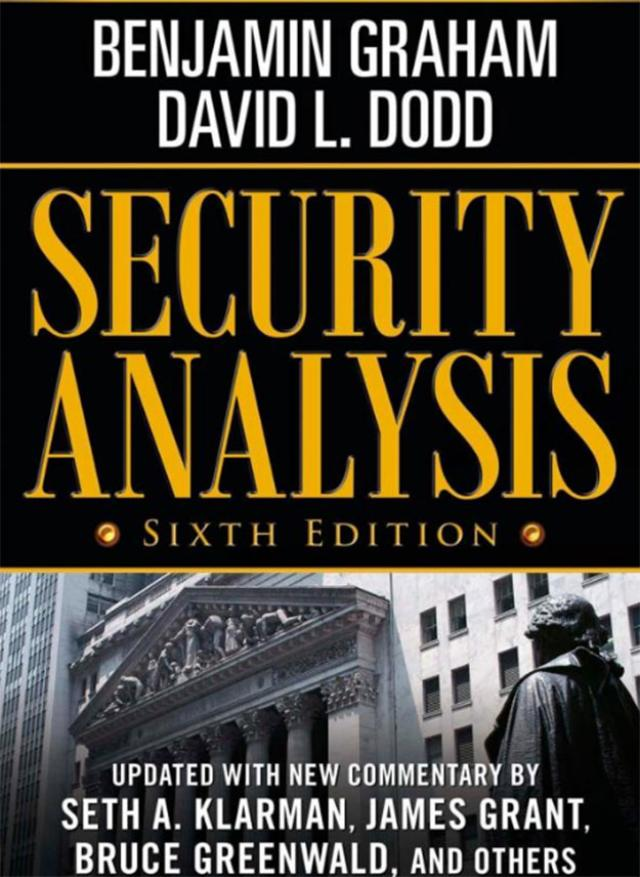 security-analysis-by-benjamin-graham-and-david-l-dodd