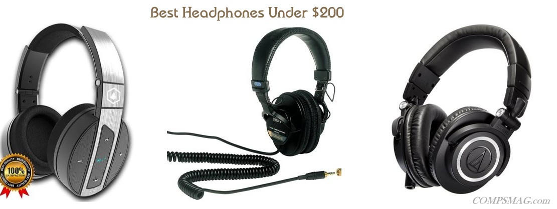 Top 5 Best Headphones Under $200
