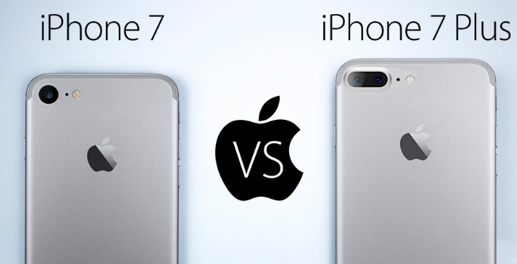 apple iphone 7 plus vs apple iphone 7