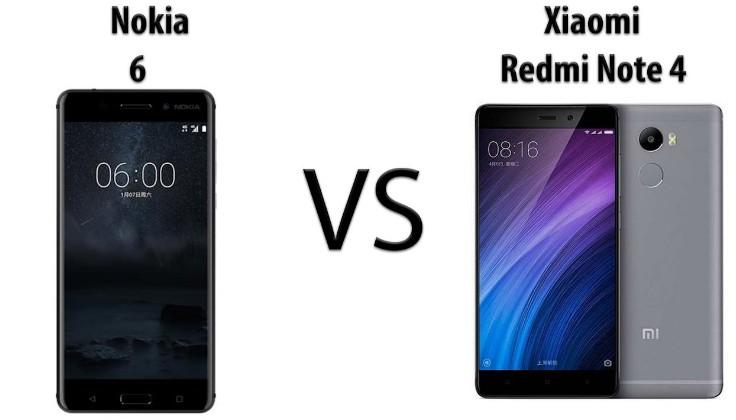 Xiaomi Redmi Note 4 Full Specification: Nokia 6 VS Xiaomi Redmi Note 4 Size, Specification, Camera