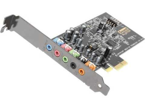 Creative Sound Blaster Audigy FX PCIe 5.1 Sound Card with High-Performance Headphone Amp