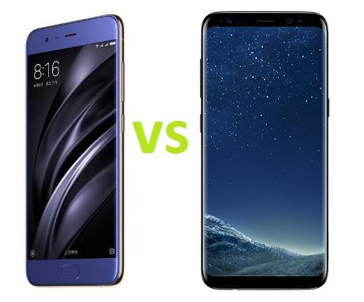 Samsung Galaxy S8 VS Xiaomi Mi6