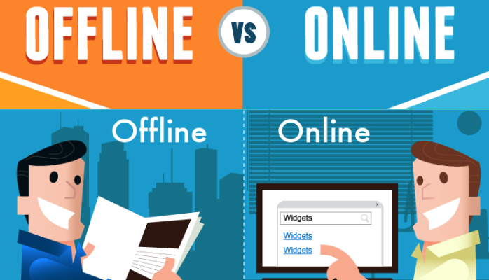 Digital Marketing versus Offline Marketing