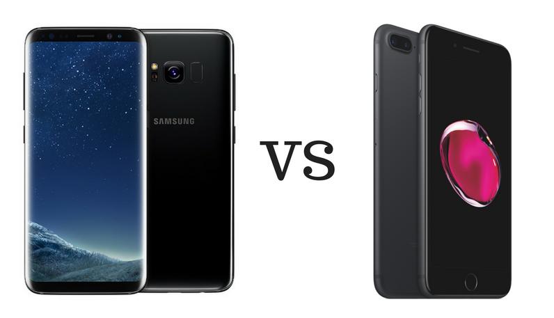 iphone 7 vs samsung s8 plus