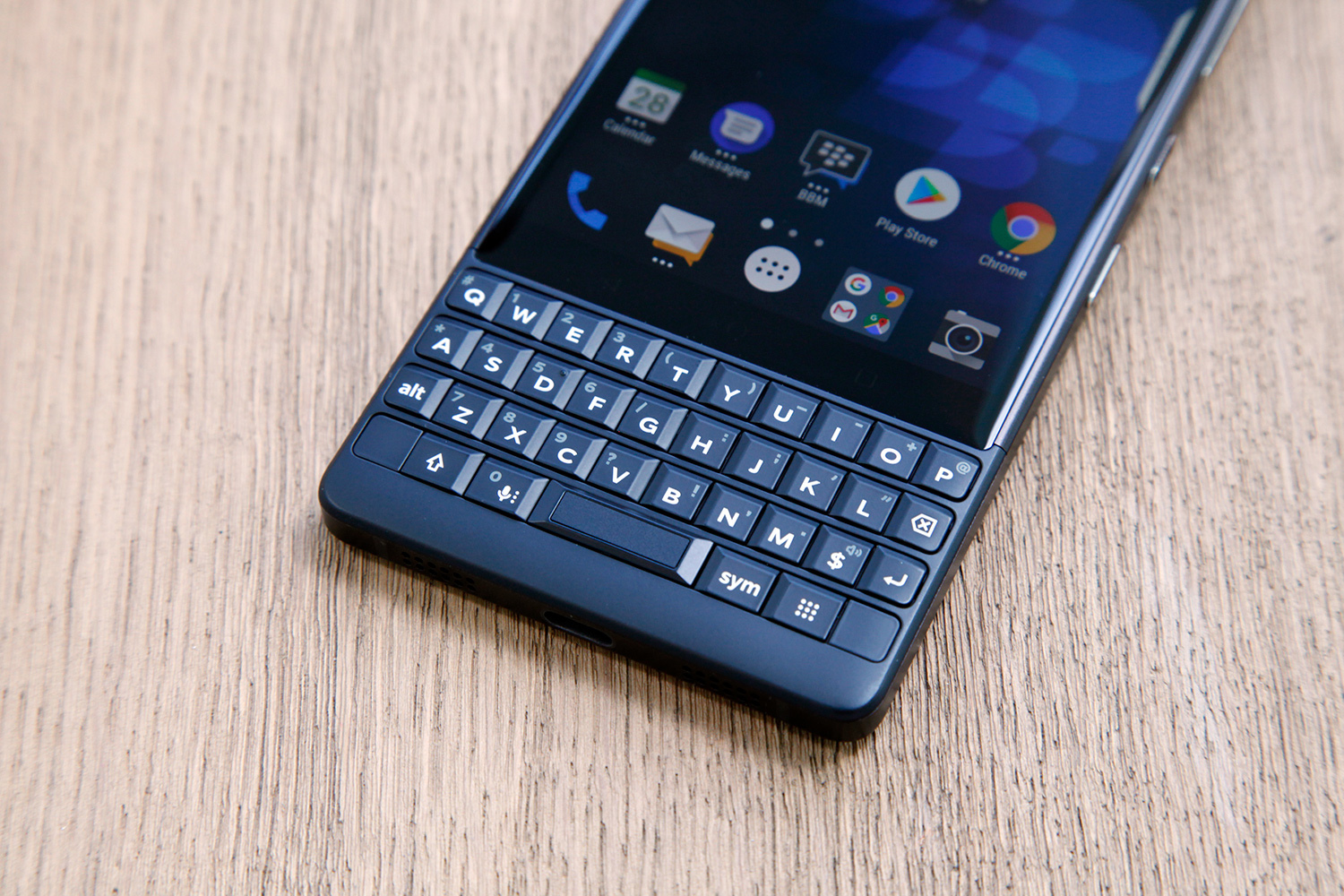 BlackBerry KEY2 Receives August Security Update