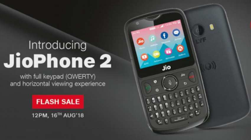 Jio Phone 2 Flash Sale Begins Today