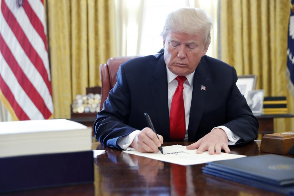 Trump Signs Annual Defense Policy Bill