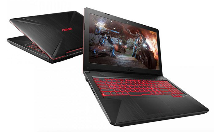 Asus refreshes TUF FX 504 laptop