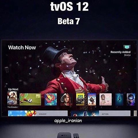 tvOS 12 Developer Beta 7