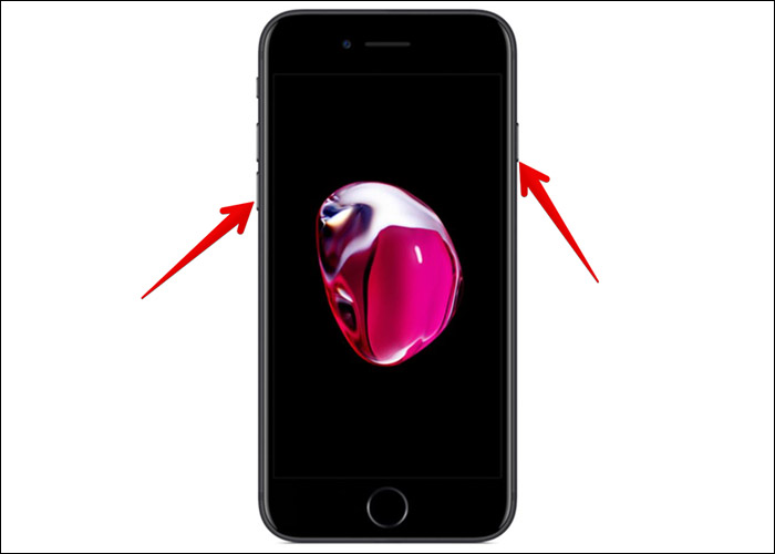 Restart the iPhone 7-7 Plus