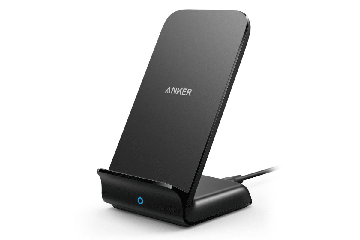 Image of Anker loading bracket on USB-C accessory list of iPhone X