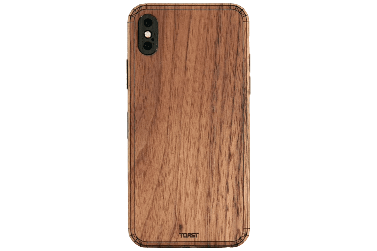 Picture of wooden toast case of our iPhone XR case collection.