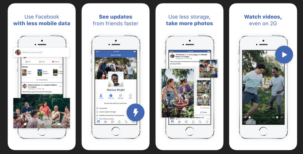 Facebook Lite App for iOS Launched