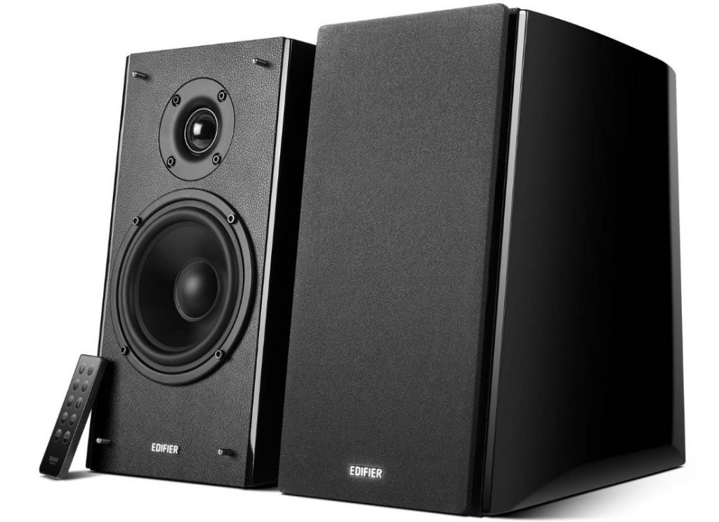 The Edifier R2000DB Powered Bluetooth Bookshelf Speaker Is One Of Best Speakers Under 500 In This List Because Many Features That