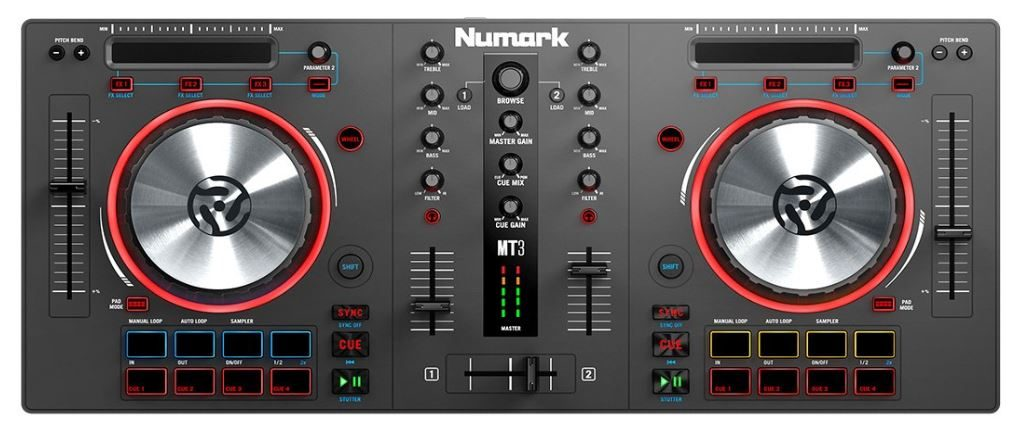 top 5 best dj controllers for beginners in 2019 budget options. Black Bedroom Furniture Sets. Home Design Ideas