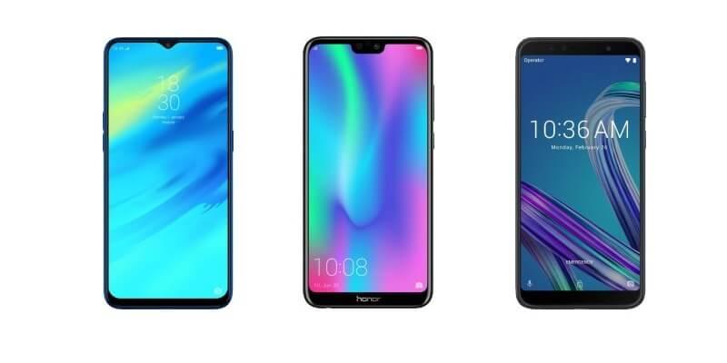 Top 10 Best Smartphones Under 20000 In India