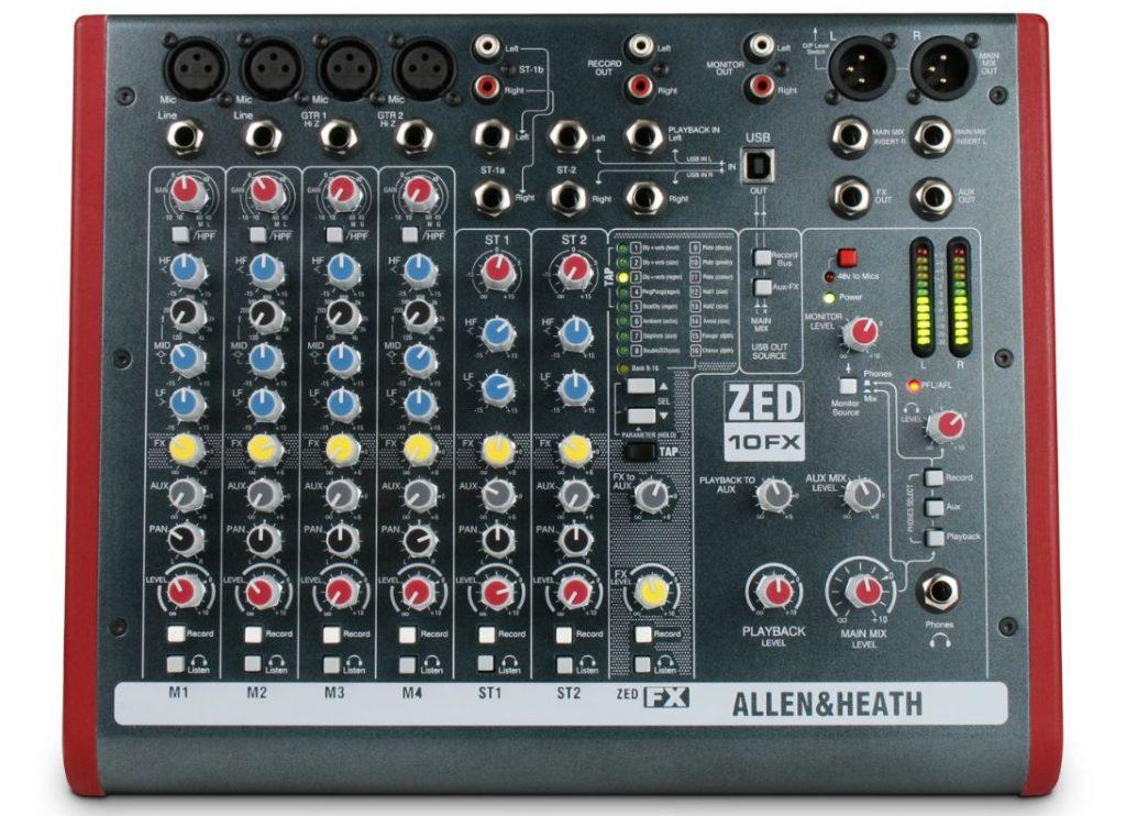 Top 10 Best Audio Mixers To Buy In 2019 - Digital Audio Mixers