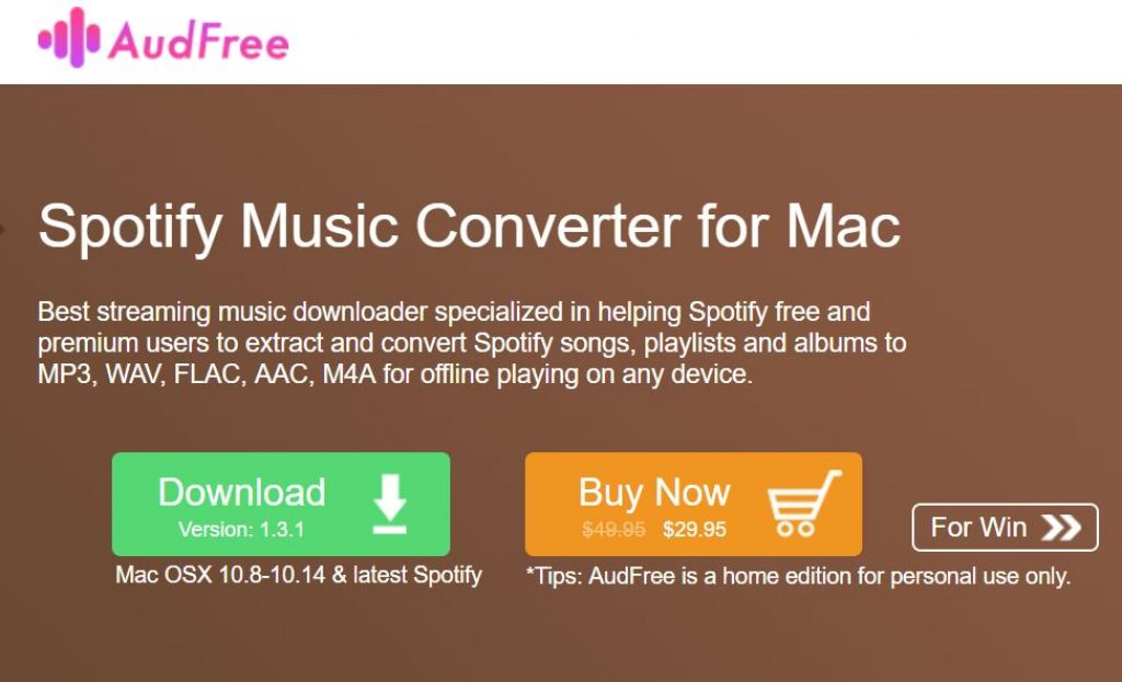 AudFree Spotify Music Converter for Mac Review - Compsmag