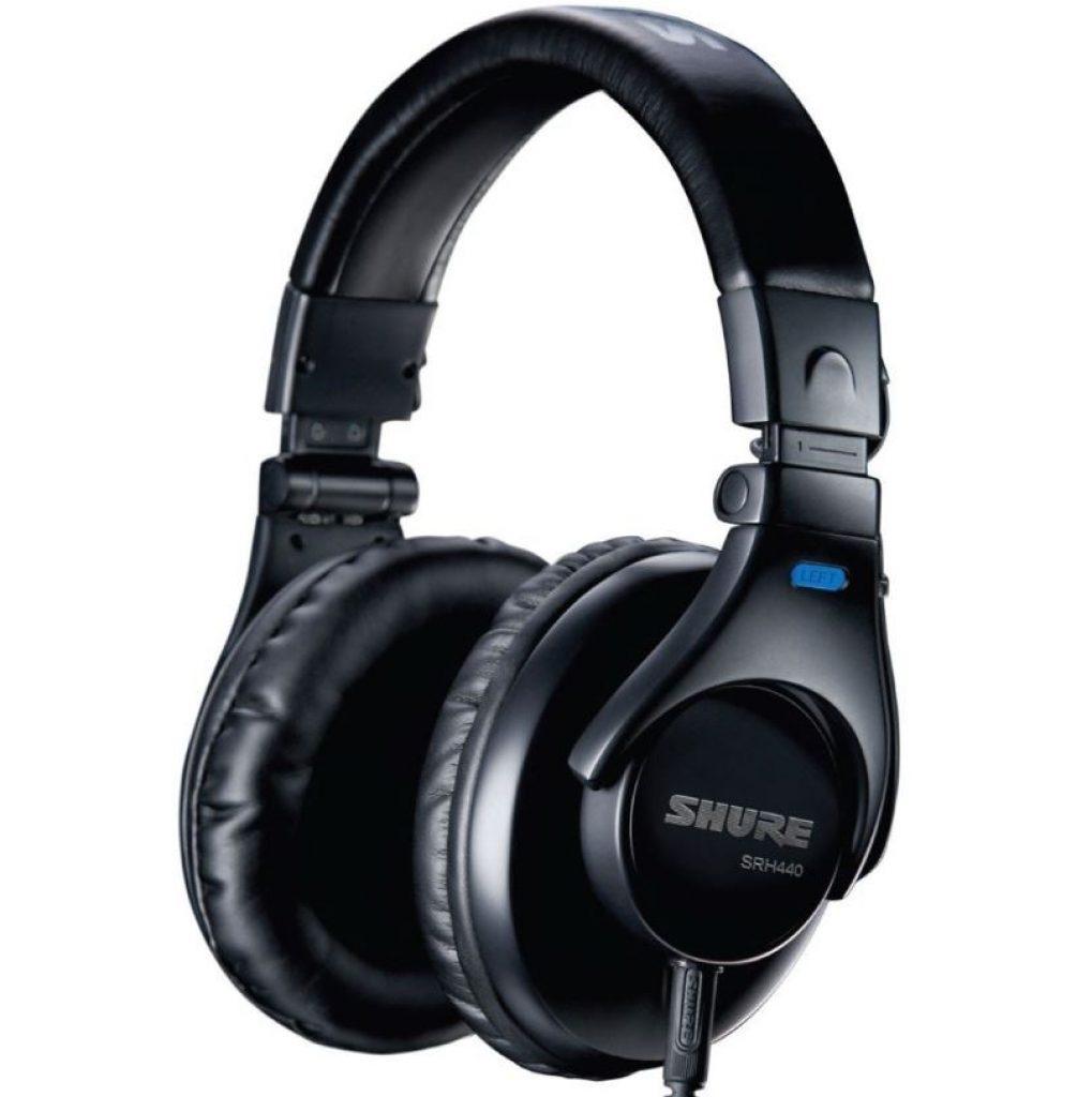 closed-back headphones