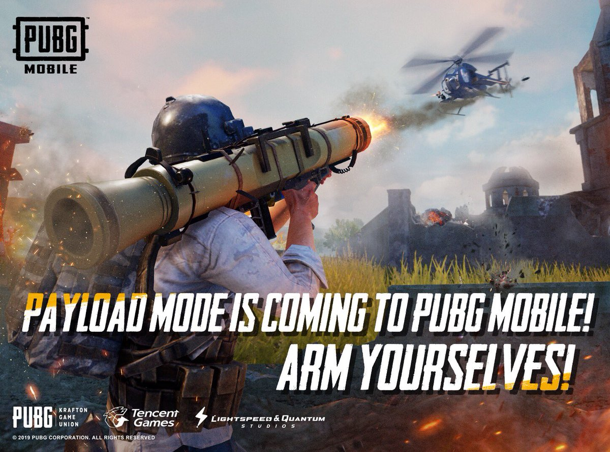 PUBG Mobile 0.15.0 Update To Bring New Payload Mode