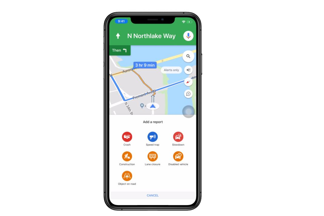 google maps offers new ways to report traffic incidents