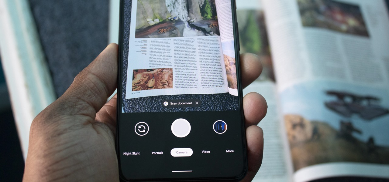 Google Camera On Pixel 4 Can Offer Document Scan, Translation And Copy Text