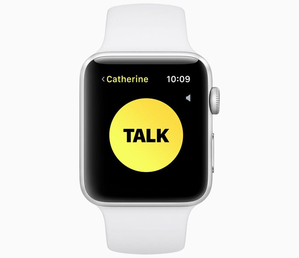 Use Walkie-Talkie on Apple Watch in watchOS 5