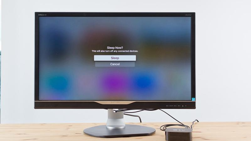 How to put your Apple TV to sleep