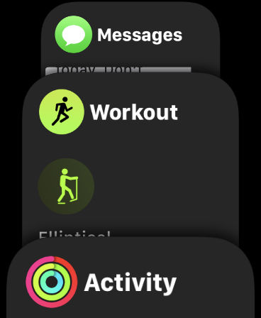 How to change the apps on the Apple watch Watch dock to Which apps are displayed?