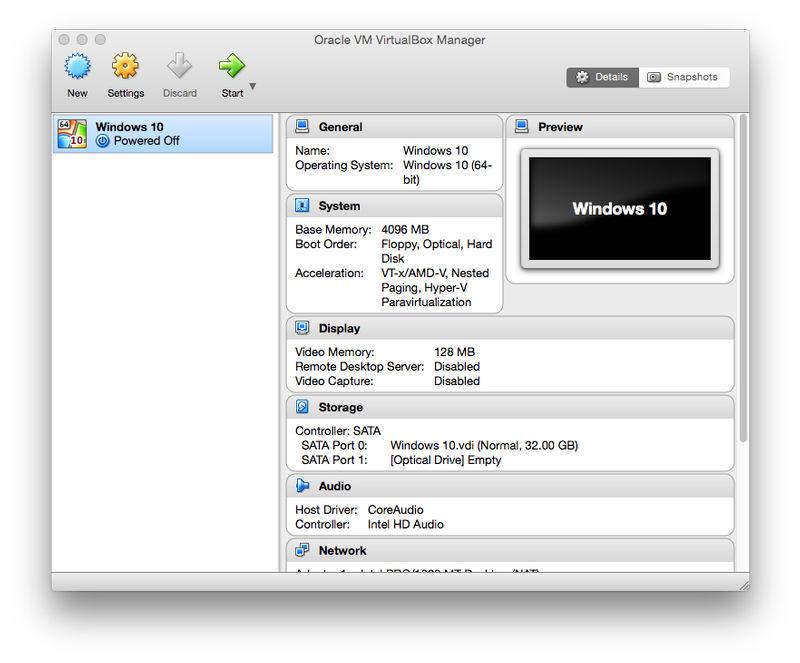 How to install Windows on Mac: VirtualBox