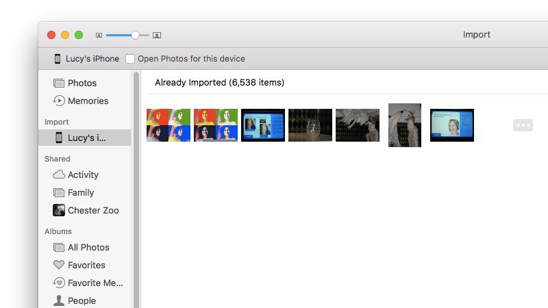 How to delete photos for Mac: Turn off Open in Photos