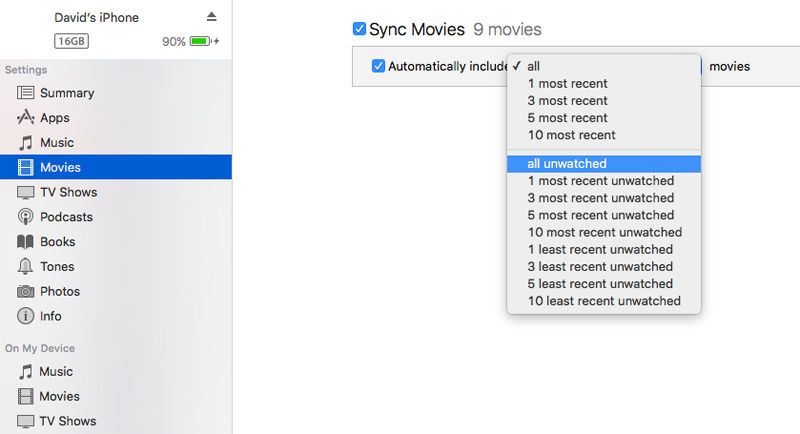Sync with iTunes: USB