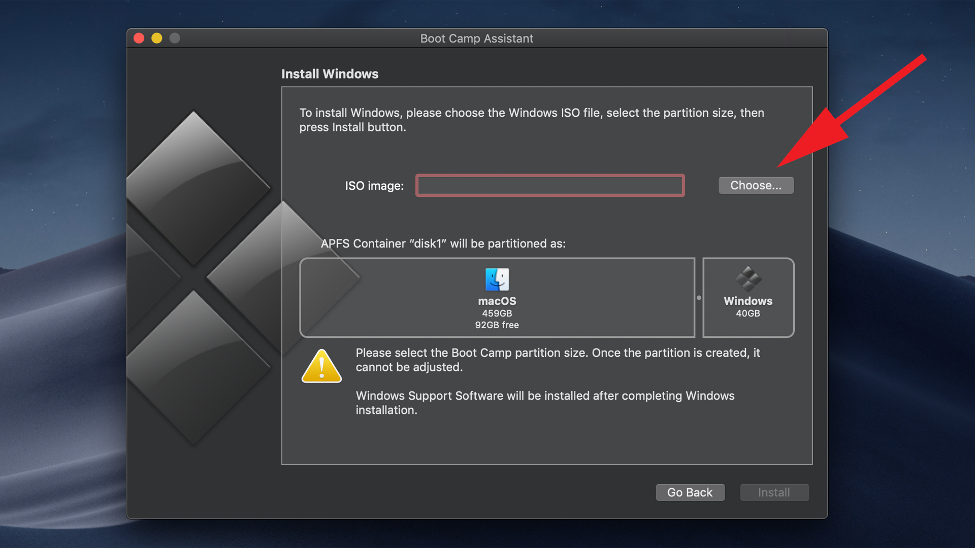 How to install Windows on a Mac