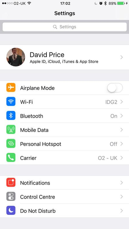 How to stop your iPhone going straight to voice mail: in the iOS Settings