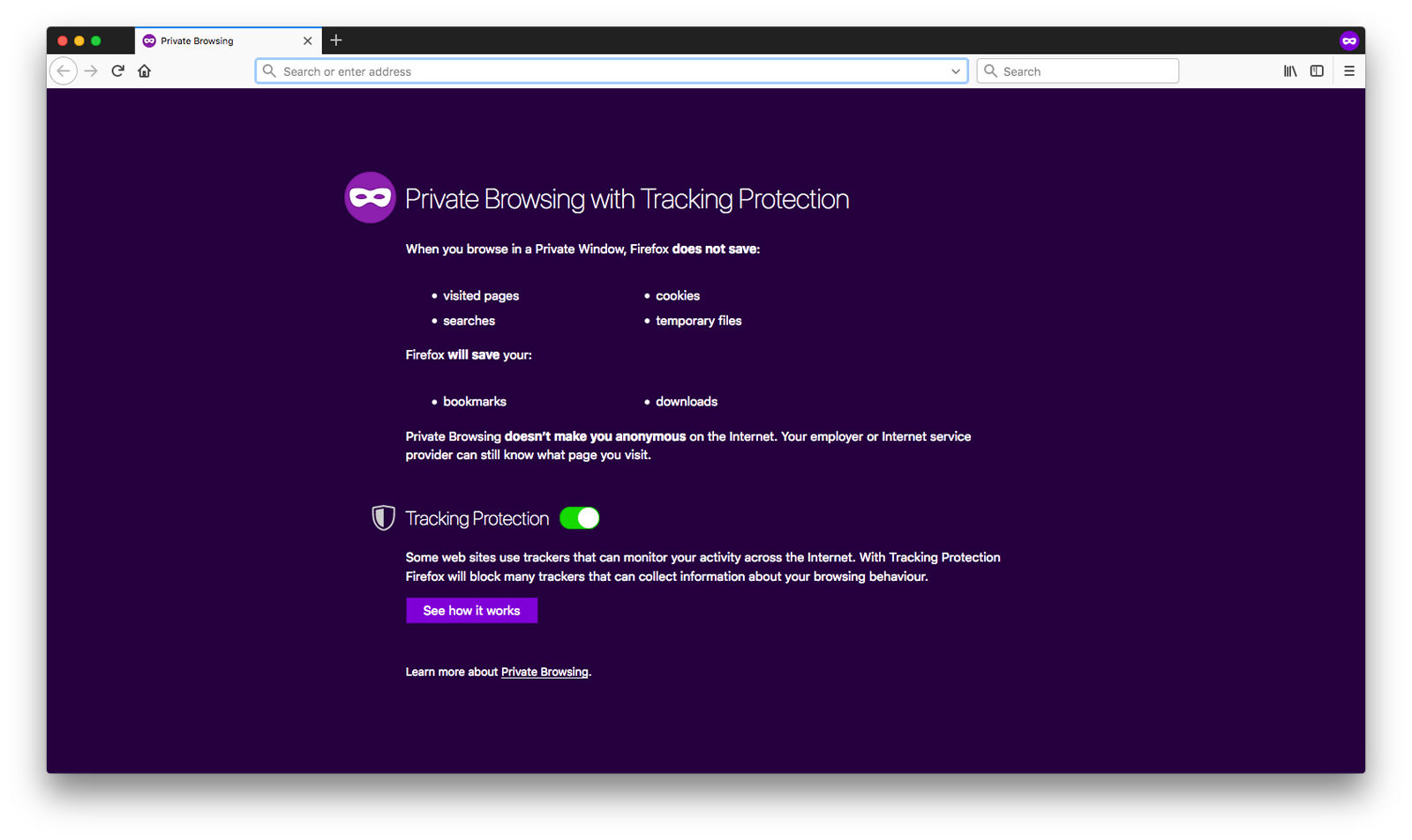 How to use private browsing on Mac: Firefox