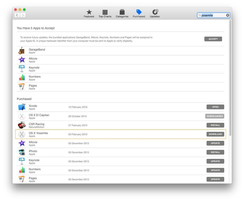 How to create a Mac recovery partition in Yosemite