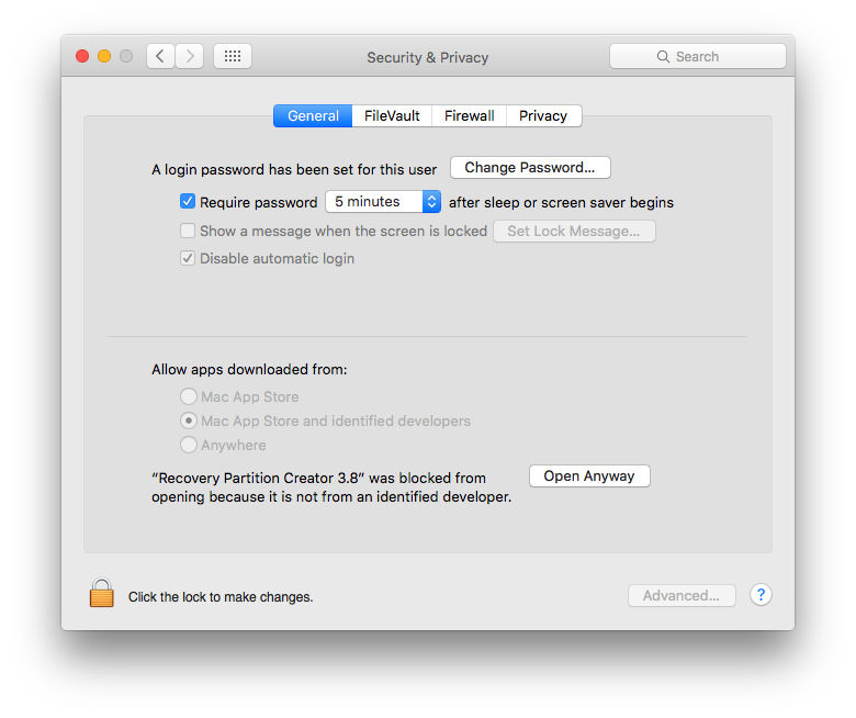 How to Create a Mac Recovery Partition
